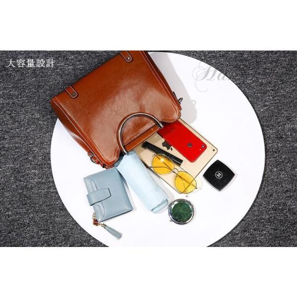 ハンドバッグ レディース 本革 牛革 可愛い ショルダー付き 斜めがけ 軽量 シンプル カジュアル 旅行 肩掛け レディースバッグ 鞄|8787-store|16