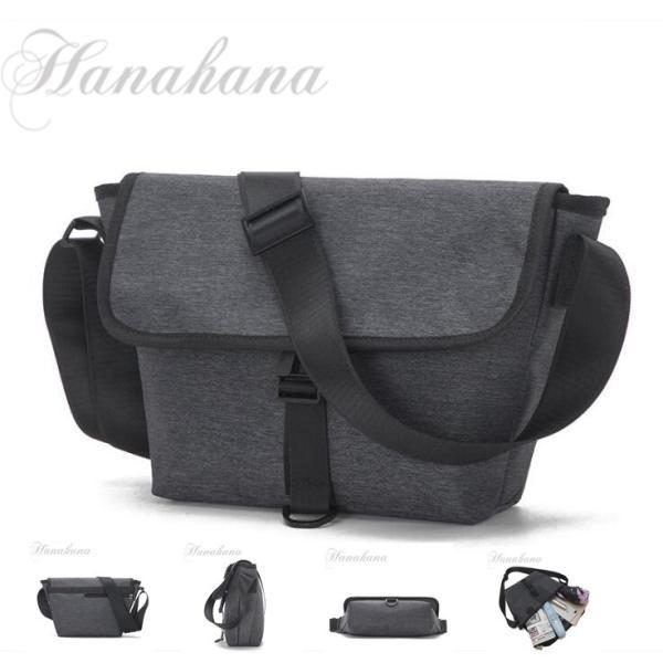 メッセンジャーバッグ メンズ ショルダーバッグ ナイロン A4 斜め掛け メンズ鞄  軽量 お出かけ 耐摩設計|8787-store
