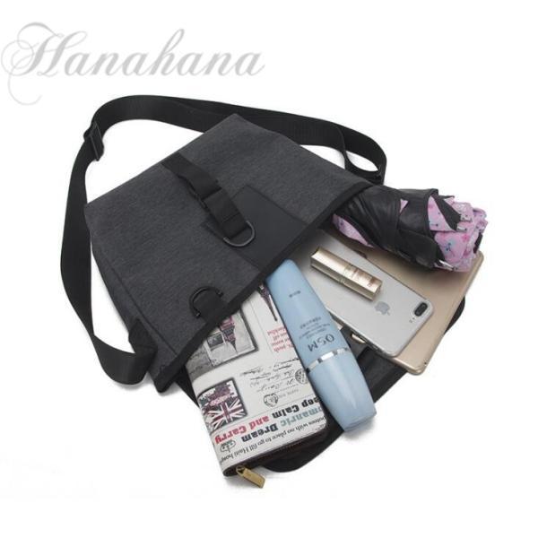 メッセンジャーバッグ メンズ ショルダーバッグ ナイロン A4 斜め掛け メンズ鞄  軽量 お出かけ 耐摩設計|8787-store|05