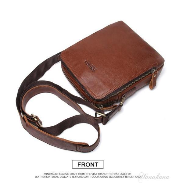 バッグ メンズ ショルダーバッグ ビジネスバッグ メッセンジャーバッグ 本革 メンズバッグ 牛革  斜めがけ バッグ 鞄 メンズ鞄 斜めがけ おしゃれ|8787-store|15