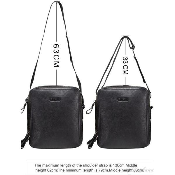 バッグ メンズ ショルダーバッグ ビジネスバッグ メッセンジャーバッグ 本革 メンズバッグ 牛革  斜めがけ バッグ 鞄 メンズ鞄 斜めがけ おしゃれ|8787-store|17