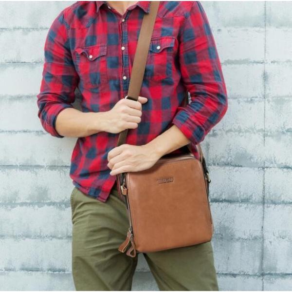 バッグ メンズ ショルダーバッグ ビジネスバッグ メッセンジャーバッグ 本革 メンズバッグ 牛革  斜めがけ バッグ 鞄 メンズ鞄 斜めがけ おしゃれ|8787-store|07