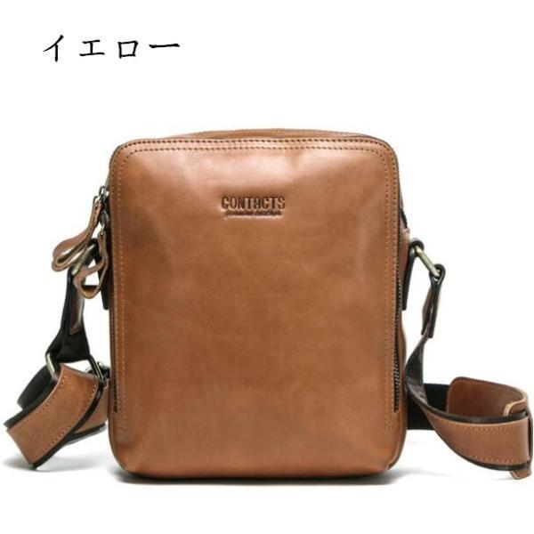 バッグ メンズ ショルダーバッグ ビジネスバッグ メッセンジャーバッグ 本革 メンズバッグ 牛革  斜めがけ バッグ 鞄 メンズ鞄 斜めがけ おしゃれ|8787-store|08
