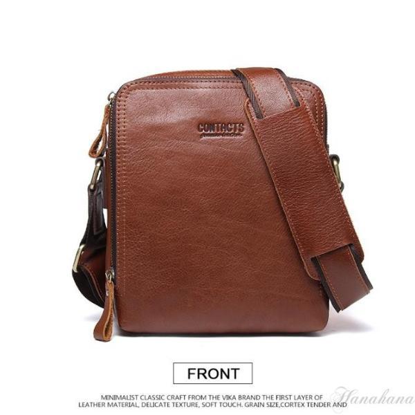 バッグ メンズ ショルダーバッグ ビジネスバッグ メッセンジャーバッグ 本革 メンズバッグ 牛革  斜めがけ バッグ 鞄 メンズ鞄 斜めがけ おしゃれ|8787-store|10