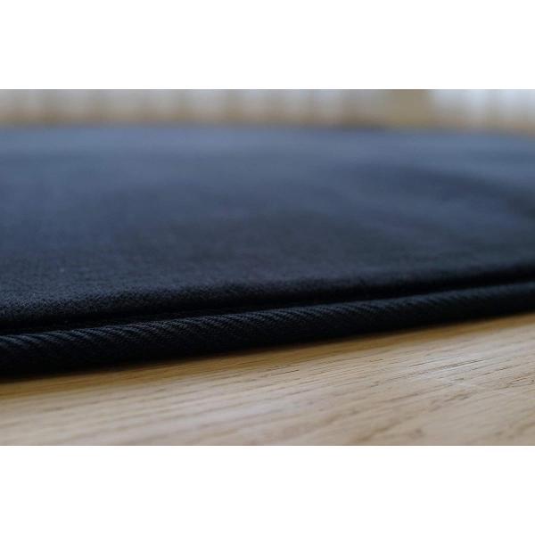サヤンサヤン なごみ 洗える ベーシックシリーズ マイクロファイバー ラグ 丸洗い可能 折り畳み可能 ホットカーペットカバー対応 滑り止め付|88-styles|02