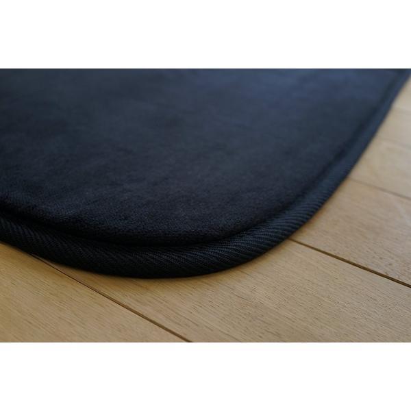 サヤンサヤン なごみ 洗える ベーシックシリーズ マイクロファイバー ラグ 丸洗い可能 折り畳み可能 ホットカーペットカバー対応 滑り止め付|88-styles|05