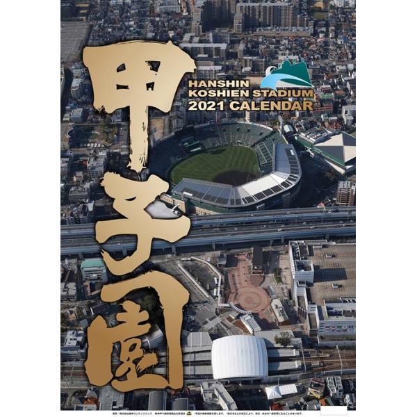 阪神甲子園球場2021壁掛けカレンダー高校球児待望