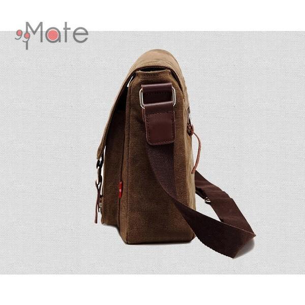 送料無料 ショルダーバッグ メンズ バッグ 斜めがけ 帆布バッグ キャンパス 斜め掛けバッグ 人気 メンズバッグ カバン 通勤|99mate|05