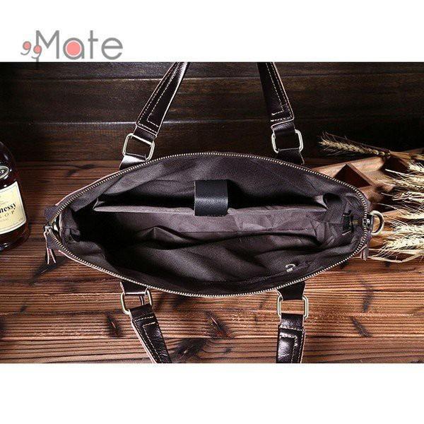 送料無料 トートバッグ 本革 バッグ メンズ ビジネスバッグ 2way ショルダーバッグ 手提げバッグ ギフト 通勤 A4 機能性 大容量|99mate|07