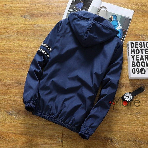 ミリタリージャケット メンズ ブルゾン フード付き ウィンドブレーカー ジップアップパーカー ジャケット アウター 2019 春物 99mate 06