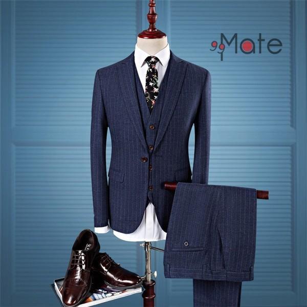 ビジネススーツ スリーピーススーツ メンズ フォーマル 紳士服 結婚式 スーツ 就職 入学 卒業式 1つボタン夏 新生活|99mate
