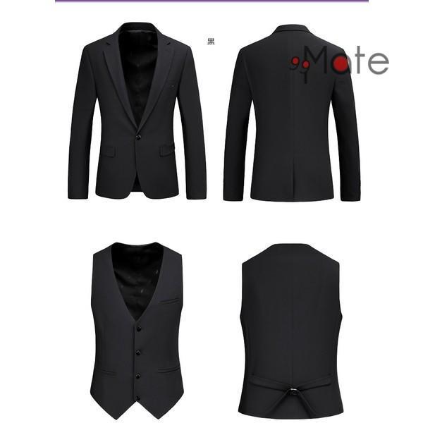 ブラックフォーマル スーツ 礼服 フォーマル セットアップ 卒業式 メンズ 夏 シングルフォーマルスーツ 喪服 結婚式 黒 新生活|99mate|06