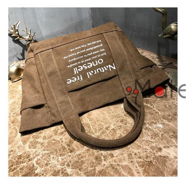 トートバッグ レディース バッグ 軽量 ハンドバッグ マザーズバッグ キャンバストートバッグ 手提げ 肩掛け 定番 布製|99mate|14
