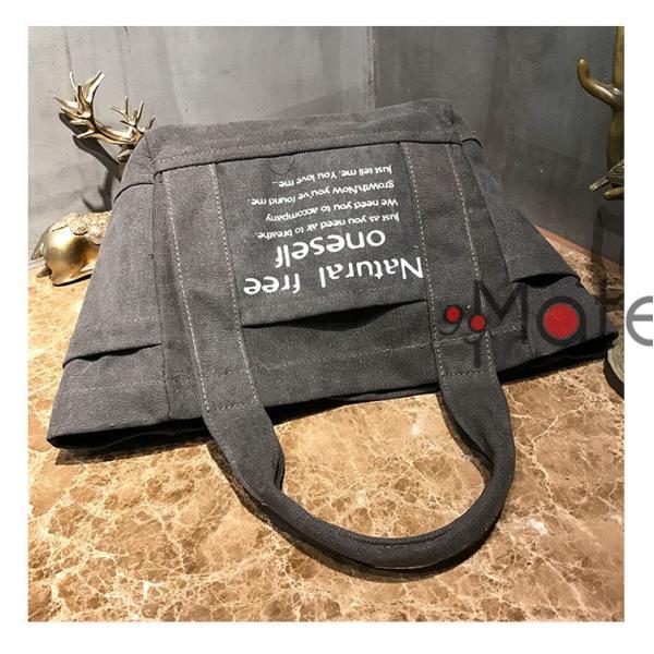 トートバッグ レディース バッグ 軽量 ハンドバッグ マザーズバッグ キャンバストートバッグ 手提げ 肩掛け 定番 布製|99mate|15