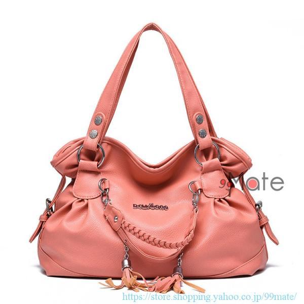 ショルダーバッグ レディース トートバッグ バッグ ハンドバッグ 通勤バッグ カバン フリンジ 可愛いバッグ A4 手提げバッグ|99mate|04