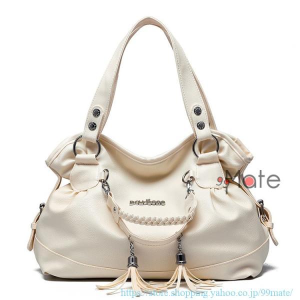 ショルダーバッグ レディース トートバッグ バッグ ハンドバッグ 通勤バッグ カバン フリンジ 可愛いバッグ A4 手提げバッグ|99mate|08