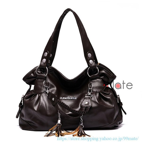 ショルダーバッグ レディース トートバッグ バッグ ハンドバッグ 通勤バッグ カバン フリンジ 可愛いバッグ A4 手提げバッグ|99mate|09