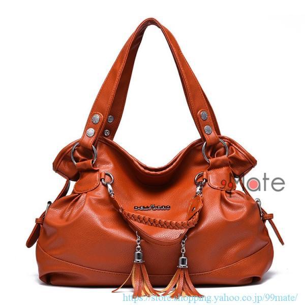 ショルダーバッグ レディース トートバッグ バッグ ハンドバッグ 通勤バッグ カバン フリンジ 可愛いバッグ A4 手提げバッグ|99mate|10
