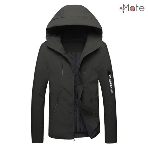 中綿ジャケット メンズジャケット フード付き ショート丈 コート 中綿コート 暖かい ファッション アウター 秋冬 99mate 20