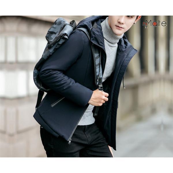 中綿ジャケット メンズジャケット フード付き ショート丈 コート 中綿コート 暖かい ファッション アウター 秋冬 99mate 10