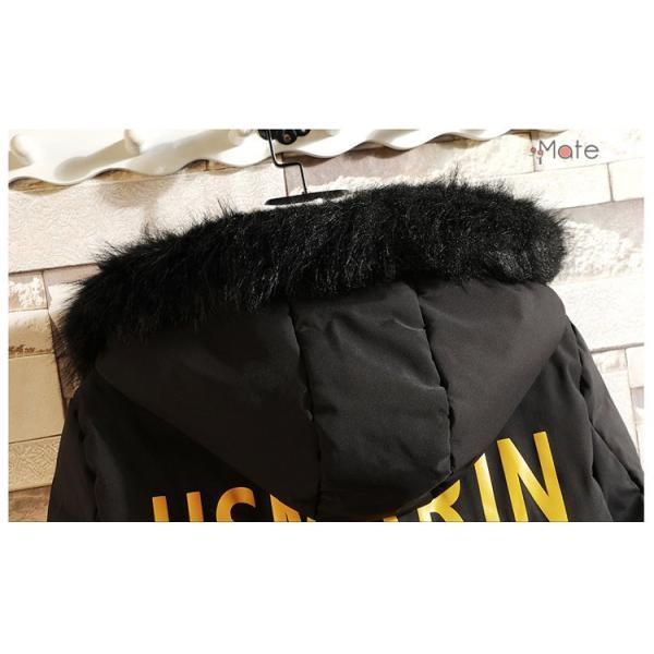 フード付き メンズ 中綿ジャケット ビジネスコート メンズ中綿コート ロングコート ジャケット 防寒着 防寒防風 秋冬 99mate 11