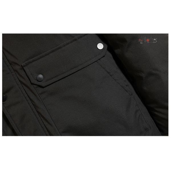 フード付き メンズ 中綿ジャケット ビジネスコート メンズ中綿コート ロングコート ジャケット 防寒着 防寒防風 秋冬 99mate 13