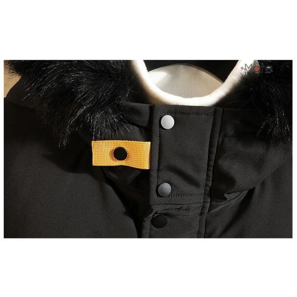 フード付き メンズ 中綿ジャケット ビジネスコート メンズ中綿コート ロングコート ジャケット 防寒着 防寒防風 秋冬 99mate 10