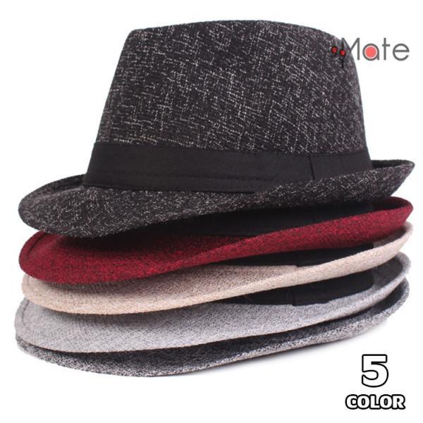 中折れ帽 メンズ おしゃれ ハット 紳士用 帽子 中折れハット 紫外線防止 日よけ帽子