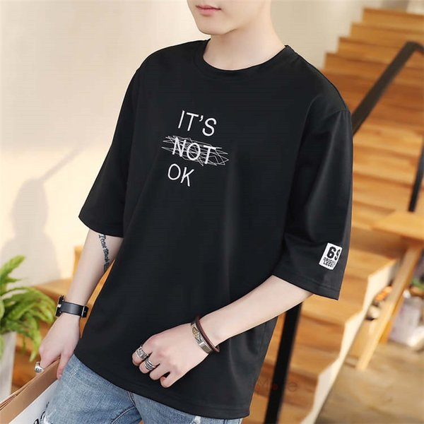 半袖Tシャツ メンズ 半袖 白Tシャツ クルーネック プリントTシャツ 涼しい カジュアル ティーシャツ お兄系 夏 サマー 99mate 11