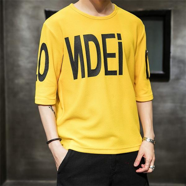 無地 Tシャツ メンズ カジュアル 五分袖 クルーネック ティーシャツ 半袖Tシャツ トップス おしゃれ 夏服 新作|99mate|11