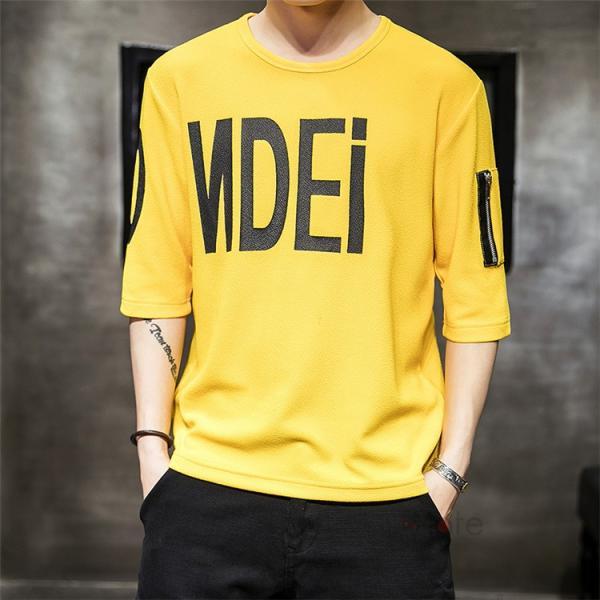 無地 Tシャツ メンズ カジュアル 五分袖 クルーネック ティーシャツ 半袖Tシャツ トップス おしゃれ 夏服 新作|99mate|12