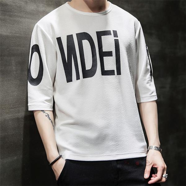 無地 Tシャツ メンズ カジュアル 五分袖 クルーネック ティーシャツ 半袖Tシャツ トップス おしゃれ 夏服 新作|99mate|16