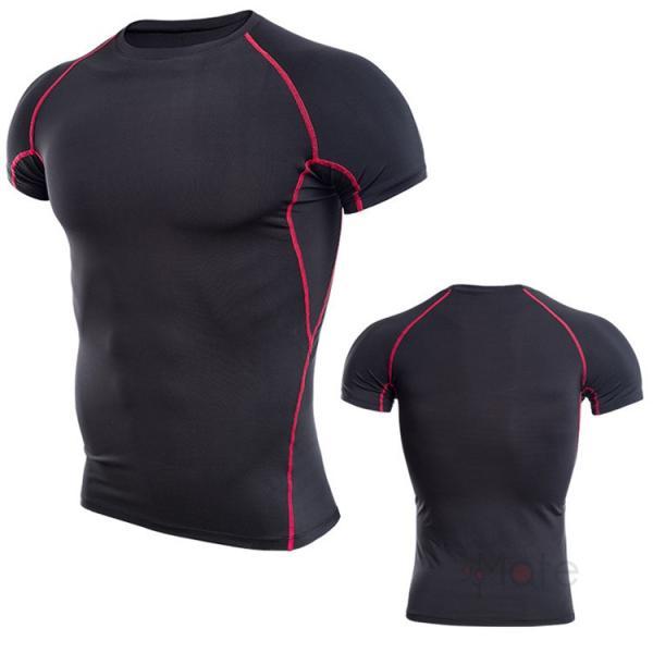 コンプレッションウェア 半袖 メンズ Tシャツ スポーツウェア スポーツシャツ 夏 インナー 加圧シャツ アンダー トレーニングウェア セール|99mate|11