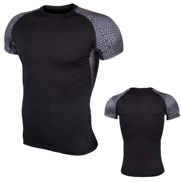 コンプレッションウェア 半袖 メンズ Tシャツ スポーツウェア スポーツシャツ 夏 インナー 加圧シャツ アンダー トレーニングウェア セール|99mate|14