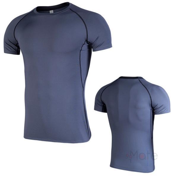 コンプレッションウェア 半袖 メンズ Tシャツ スポーツウェア スポーツシャツ 夏 インナー 加圧シャツ アンダー トレーニングウェア セール|99mate|07