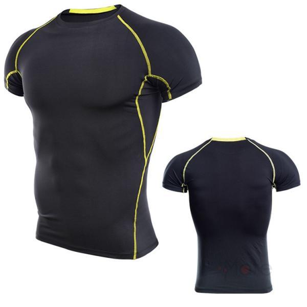 コンプレッションウェア 半袖 メンズ Tシャツ スポーツウェア スポーツシャツ 夏 インナー 加圧シャツ アンダー トレーニングウェア セール|99mate|10