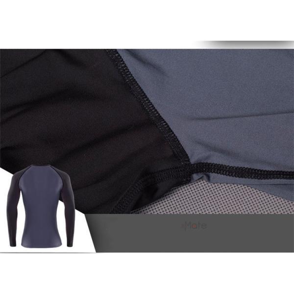 長袖 Tシャツ レディース フィットネス ヨガウェア コンプレッションウェア ジム ウェア 加圧インナー アンダー 春夏秋|99mate|17