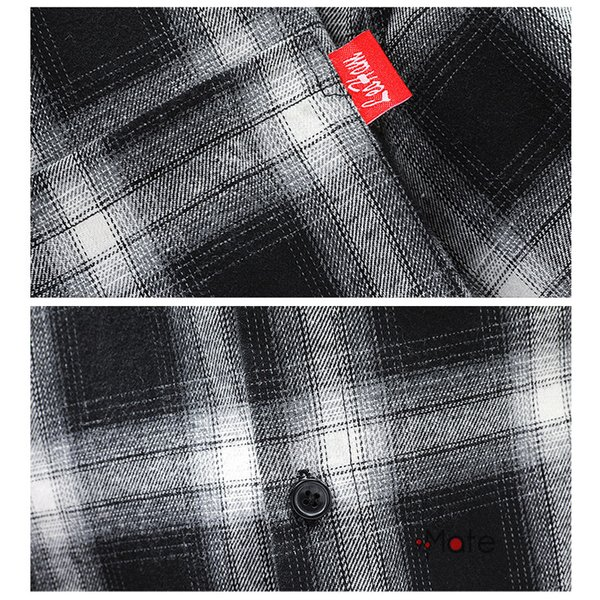 チェックシャツ メンズ トップス 半袖シャツ ネルシャツ カジュアルシャツ 薄手シャツ 半袖 ルームウェア お兄系 ゆったり 2019夏 セール|99mate|10