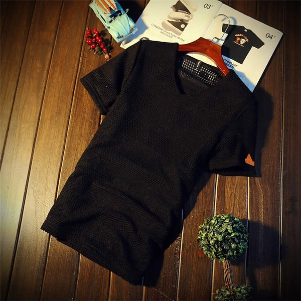 カジュアルTシャツ メンズ 半袖 Tシャツ ティーシャツ 無地 半袖Tシャツ Vネック かっこいい 夏新作 送料無料|99mate|05