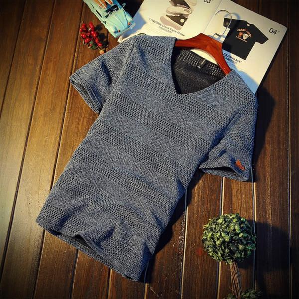 カジュアルTシャツ メンズ 半袖 Tシャツ ティーシャツ 無地 半袖Tシャツ Vネック かっこいい 夏新作 送料無料|99mate|08