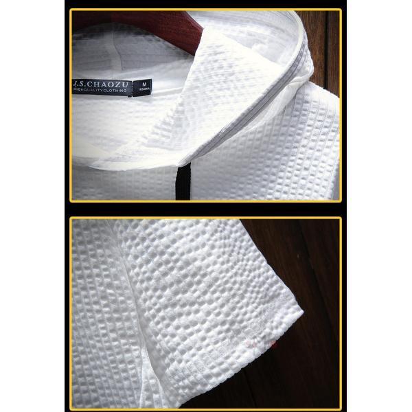 半袖Tシャツ 半袖パーカー メンズ フード付き プルオーバー 夏 無地 パーカー カジュアル スリム 夏新作 父の日|99mate|09