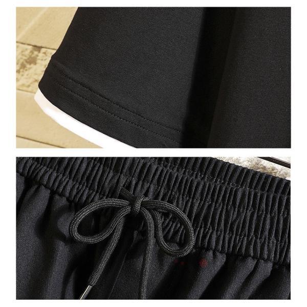 上下セット メンズ 半袖 Tシャツ スポーツウェア ショートパンツ セットアップ 部屋着 カジュアル ジャージ 夏新作|99mate|09
