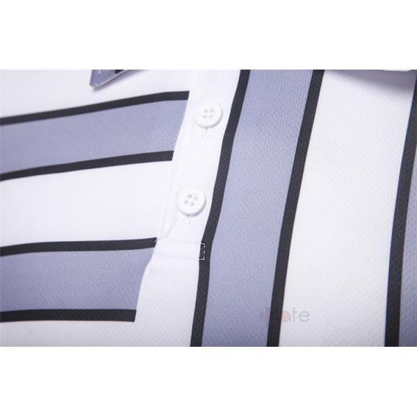 ポロシャツ メンズ ゴルフウェア 半袖ポロ POLO Tシャツ トップス カットソー 無地 通勤 新作 スリム 2019夏 99mate 12