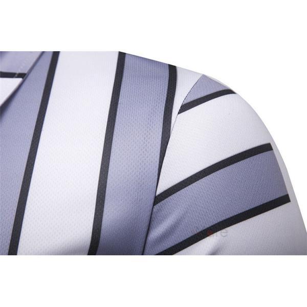 ポロシャツ メンズ ゴルフウェア 半袖ポロ POLO Tシャツ トップス カットソー 無地 通勤 新作 スリム 2019夏 99mate 10