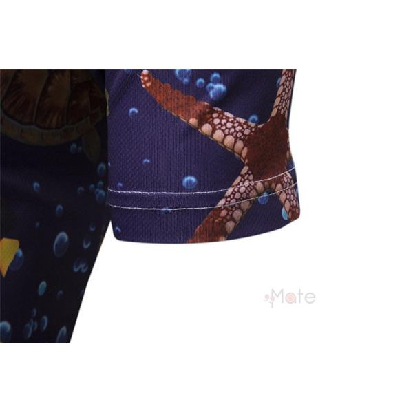 ポロシャツ メンズ Tシャツ 半袖ポロ カジュアルシャツ POLO ゴルフシャツ アメカジ 柄物 ゴルフウェア 夏|99mate|07