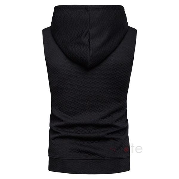 タンクトップ メンズ パーカー Tシャツ スポーツ 運動 ノースリーブ トレーニングウェア 男性用 トップス 2019夏|99mate|06