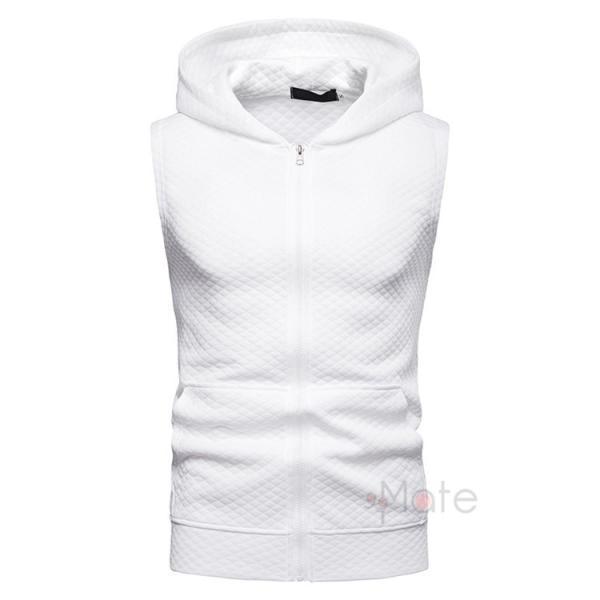 タンクトップ メンズ パーカー Tシャツ スポーツ 運動 ノースリーブ トレーニングウェア 男性用 トップス 2019夏|99mate|07