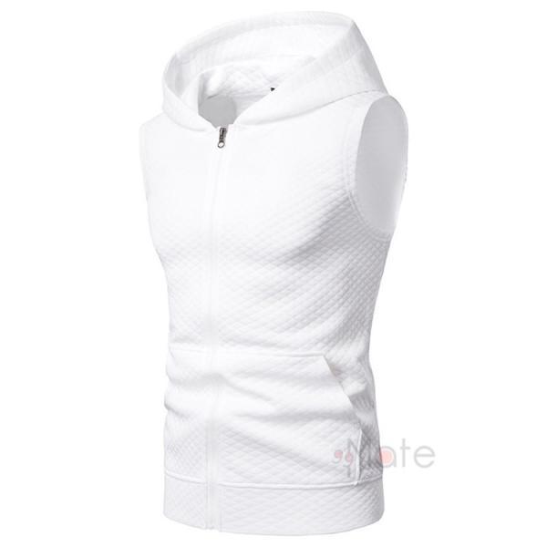 タンクトップ メンズ パーカー Tシャツ スポーツ 運動 ノースリーブ トレーニングウェア 男性用 トップス 2019夏|99mate|08