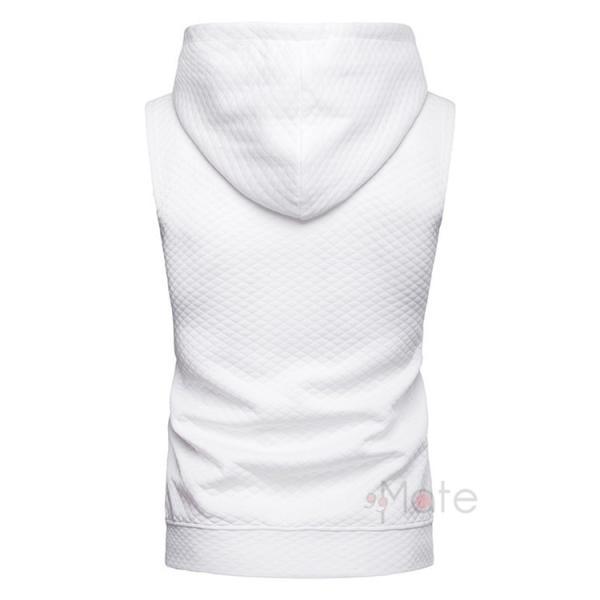 タンクトップ メンズ パーカー Tシャツ スポーツ 運動 ノースリーブ トレーニングウェア 男性用 トップス 2019夏|99mate|09