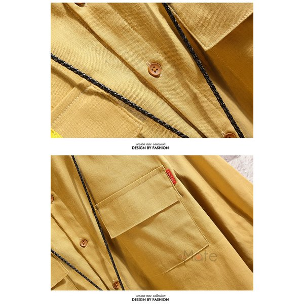ワークシャツ 半袖シャツ メンズ 五分袖シャツ カジュアルシャツ ミリタリーシャツ アウトドア 夏 新作 99mate 14